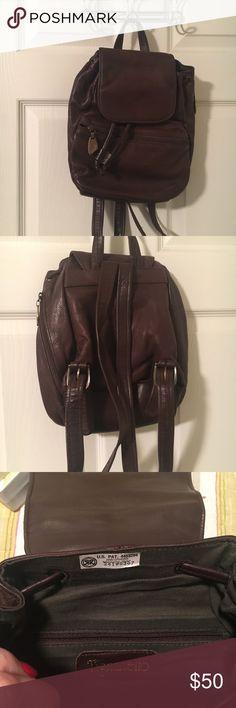 Tignanello backpack brown Euc Euc Tignanello Bags Backpacks