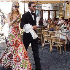 ..... oooohhhh yessssss Bea definitely rrrrrrrocccccckkkkkked in #martaferriatelier #martaferri thank you for choosing me again!! @biibeep ❤️#Capri