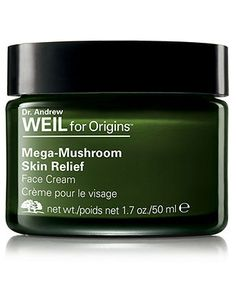 My rosacea is almost under control again thanks to Origins Mega-Mushroom Skin Relief Soothing Face Cream
