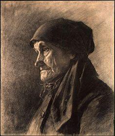 Ηλικιωμένη αγρότισσα. (1878)