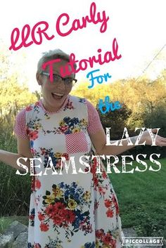 LulaRoe Carly Sewing Tutorial For the Lazy Seamstress - A crazy simple way to take your LLR LuLaRoe Carly dress and use it as a sewing template for a new custom frock!