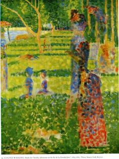 Georges Seurat「The Couple」