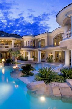 Dream House With Pool a dream house and a pool, what more could you ask for? these 22