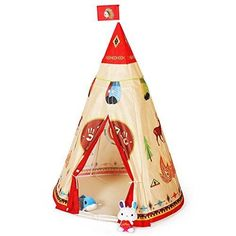 Indian Teepee Tent Kids Play Children Indoor Outdoor Playhouse Toy Boys Girls  #Ylovetoys
