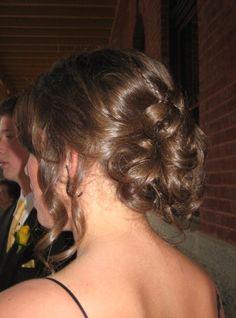 senior prom hair #style #hair