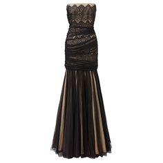 (アリエラ) レディース トップス ワンピース Ariella Black beige gabriella lace long dress 並行輸入品  新品【取り寄せ商品のため、お届けまでに2週間前後かかります。】 表示サイズ表はすべて【参考サイズ】です。ご不明点はお問合せ下さい。 カラー:Beige