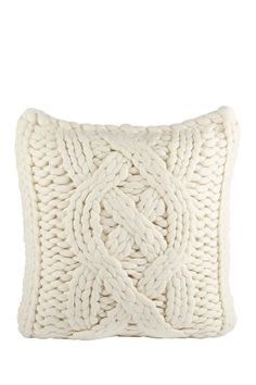 """UGG Australia - Oversized Knit Pillow Cover - Natural White - 20"""" x 20"""" is now 50% off. Free Shipping on orders over $100."""
