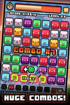 Piyo Blocks 2  開発: Big Pixel Studios