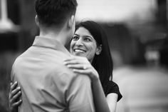 Chicago downtown engagement photography by Candice Cusic