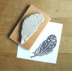 Hand carved stamps...