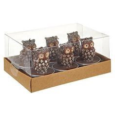 Buy John Lewis Owl Tealights, Set of 6 from our Candles & Home Fragrance range at John Lewis & Partners. Owl Always Love You, Christmas Crackers, Head Start, John Lewis, Hot Chocolate, Tea Lights, Cool Stuff, Stuff To Buy, Decorative Boxes
