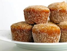 Apple cider donut bites......