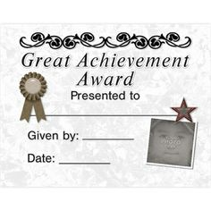 award certificates template from lll creations 14 premade printable 11x85 award certicates