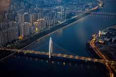 Guangzhou by mr. Wood, via Flickr Overseas Chinese, Visit China, Guangzhou, Fuji, All Over The World, San Francisco Skyline, New York Skyline, Photography, Travel