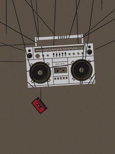 cassette insides #illustration
