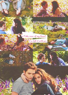 """…But most significant in this tidal wave of happiness was the surest fact of all: I was with Edward. Forever."""