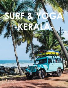 One for the bucket list. Surf and Yoga holiday in Kerala, India New Travel, India Travel, Family Travel, Kerala Travel, Munnar, Kochi, Yoga Hotel, Yoga Holidays, Kerala India