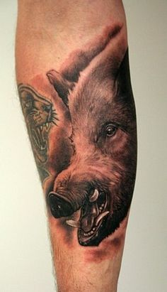 Wild Varken Henk Boar Tattoo