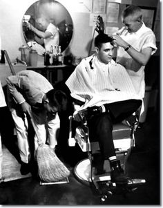 Learn how to talk to your barber. But telling a barber what you want can be intimidating for a man, especially with all the special lingo they throw around. [via artofmanliness.com]