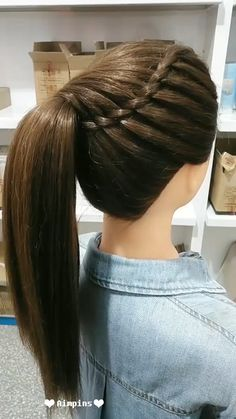 20 Cute and Easy Party Hairstyles for All Hair Lengths and Types Easy Party Hairstyles, Bun Hairstyles For Long Hair, African Braids Hairstyles, Elegant Hairstyles, Little Girl Hairstyles, Braided Hairstyles, Hairstyle Ideas, Easy Hairstyle, Hair Updo