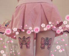 Kitty Moon*~ ^ω^ : Photo Baby Tattoos, Dream Tattoos, Mini Tattoos, Body Art Tattoos, Cool Tattoos, Tatoos, Piercing Tattoo, Piercings, Hellboy Tattoo