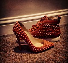 HIS  HERS CHRISTIAN LOUBOUTIN