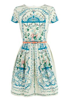 Placement Print Dress | Rachel Khoo