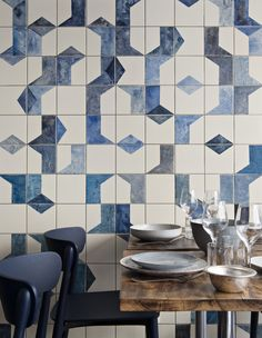 Dwell - A Parisian Seafood Restaurant, Swimming in Shades of Blue