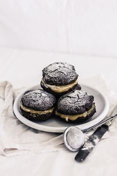 Mocha whoopie pie with dulce de lece | Flickr - Photo Sharing!