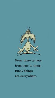 Dr Seuss :)  iPhone Wallpaper.