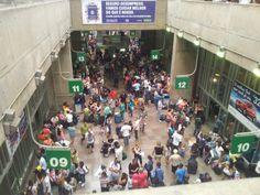 Terminal Rodoviário Tietê em São Paulo, SP