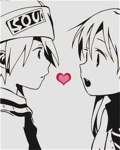 Soul and Maka - Soul Eater