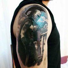 Male Spartan Tattoo Sleeves