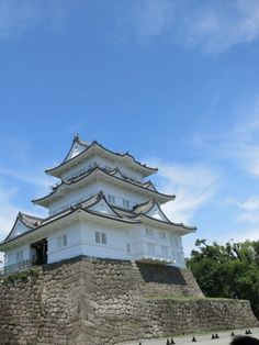 Japanese Castle, City Life, Castles, Temple, Mansions, House Styles, Summer, Summer Time, Chateaus