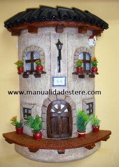 MANUALIDADES, BELLAS ARTES Y ENMARCACION TERE MOTA: Tejas decoradas
