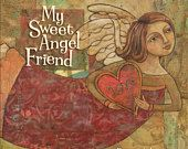Book | My Sweet Angel Friend | Angels | Friends | Art | Teresa Kogut