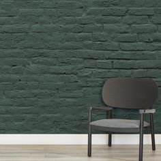 Easily browse & shop our range of brick wallpaper. Create a cool interior with our red, grey, white & brick effect designs. Brick Wallpaper Mural, Dark Green Wallpaper, Kitchen Wallpaper, Painted Brick Exteriors, Painted Brick Walls, Painted Brick Homes, Faux Brick, Exposed Brick, Brick Art