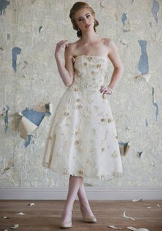 Amelie | Tea Length Wedding Dresses And 1950s Bridal Dresses At ShopRuche.com