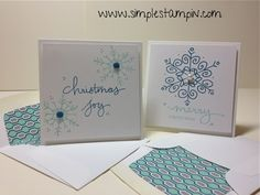 Stampin' Up!, 3 x 3, Endless Wishes