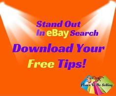 Dominate eBay Search Tips