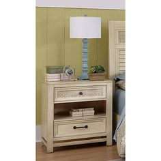 Finish! Haven Aged Ivory Nightstand - Overstock™ Shopping - Great Deals on Nightstands