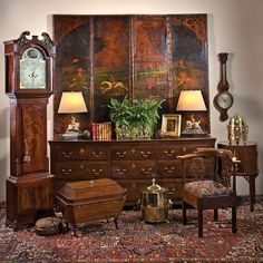 A Charlotte antiques showroom and warehouse offering 18th and 19th Century English and French and other European acquisitions
