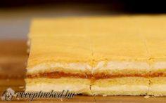 Mimóza szelet Sandwiches, Cookies, Ethnic Recipes, Food, Kuchen, Crack Crackers, Biscuits, Essen, Meals