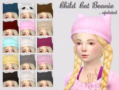 [Update] Child Cat Beanies (M&F)DOWNLOAD google drive ll adflycc creditsskin/ eyes / blush by S-Clublipshair by MaySims