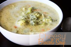 Lovely Little Snippets: Cheesy Broccoli Soup