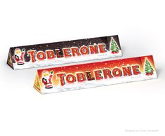 Toblerone Christmas Packaging 2013. Designed by Turner Duckworth.