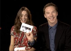 Too cute this interview with Benedict Cumberbatch and Keira Knightly is lovely!!! Click through to watch!!