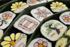 Japanese Sushi Roll! These are works of art!