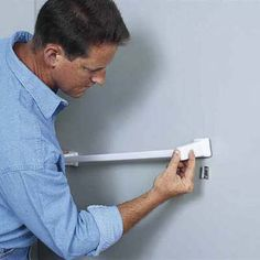 Photo: Merle Henkenius | thisoldhouse.com | from How to Anchor a Towel Bar