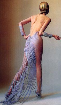 Versace Haute Couture Vogue April 2000